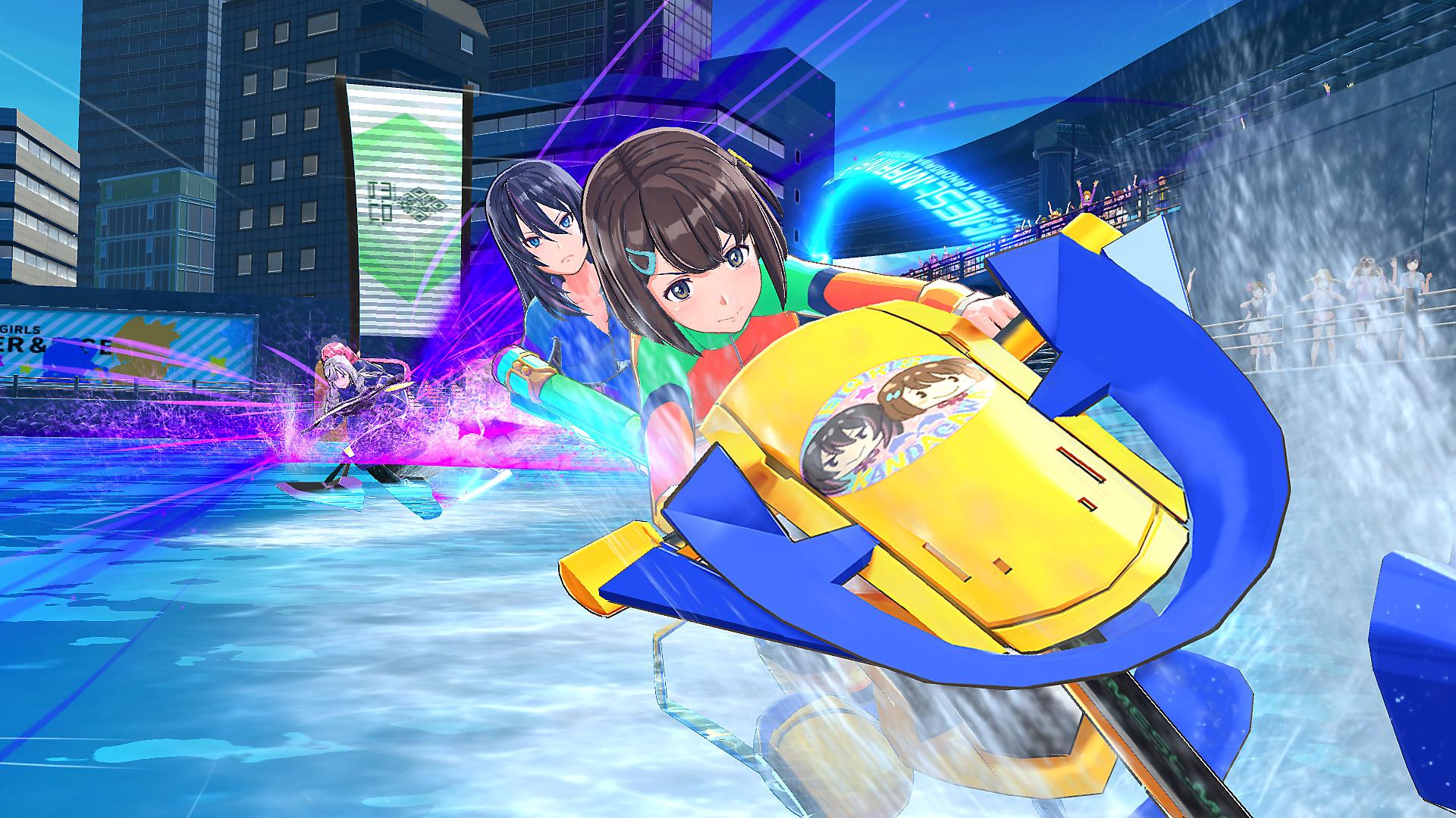 Постер Kandagawa Jet Girls