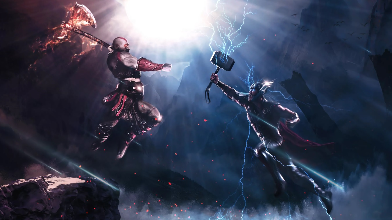 Постер God of War Ragnarok
