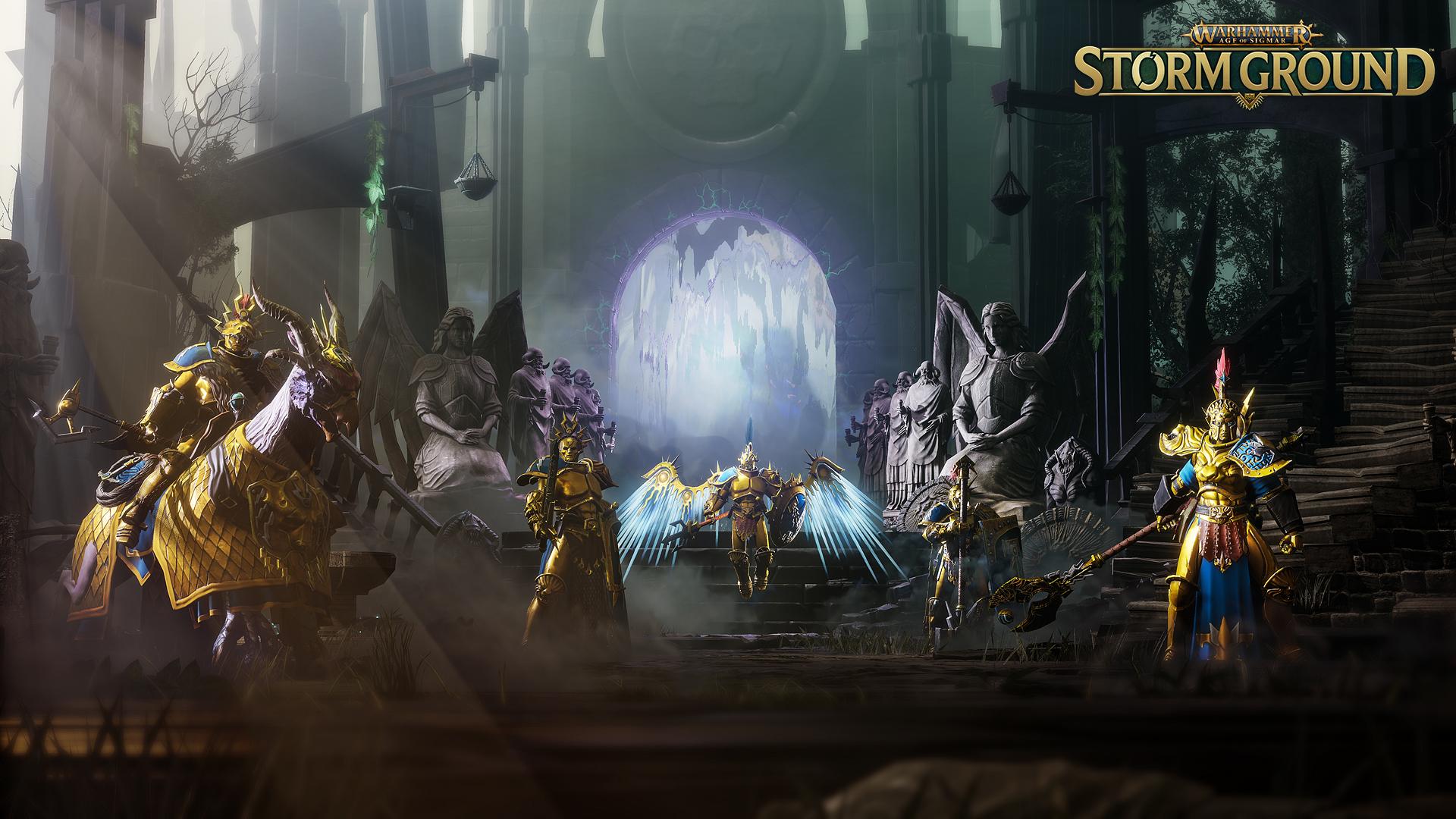 Постер Warhammer Age of Sigmar: Storm Ground