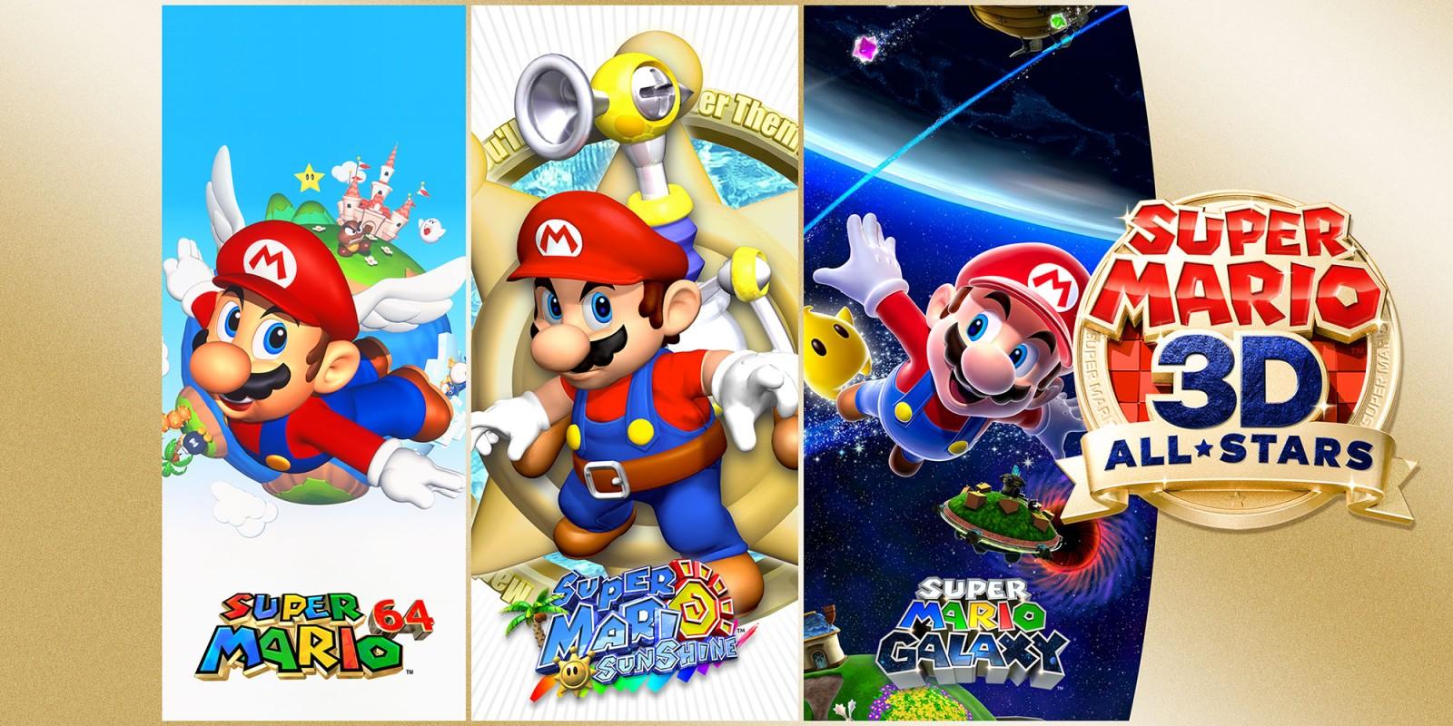 Постер Super Mario 3D All-Stars