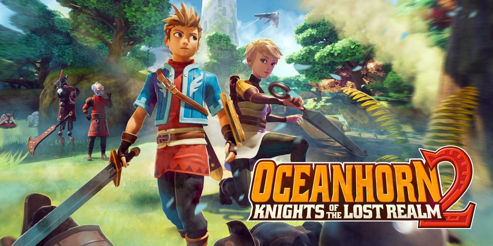 Постер Oceanhorn 2: Knights of the Lost Realm