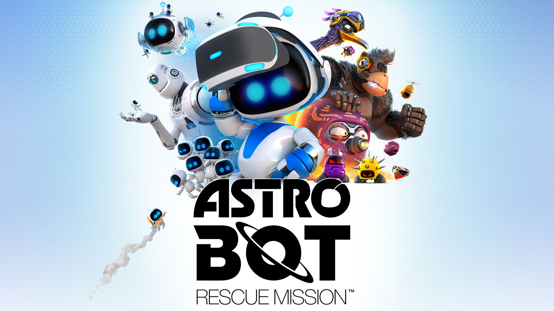 Постер Astro Bot Rescue Mission