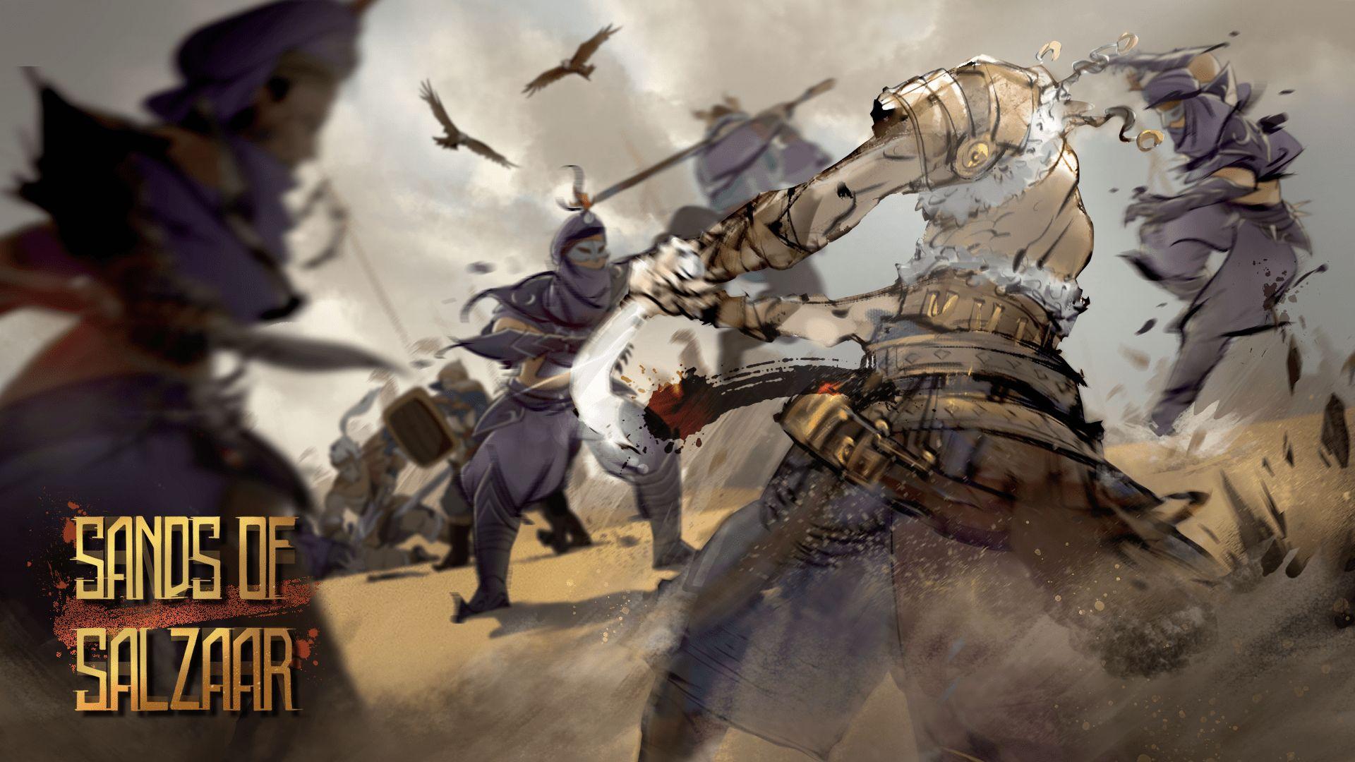 Постер Sands of Salzaar