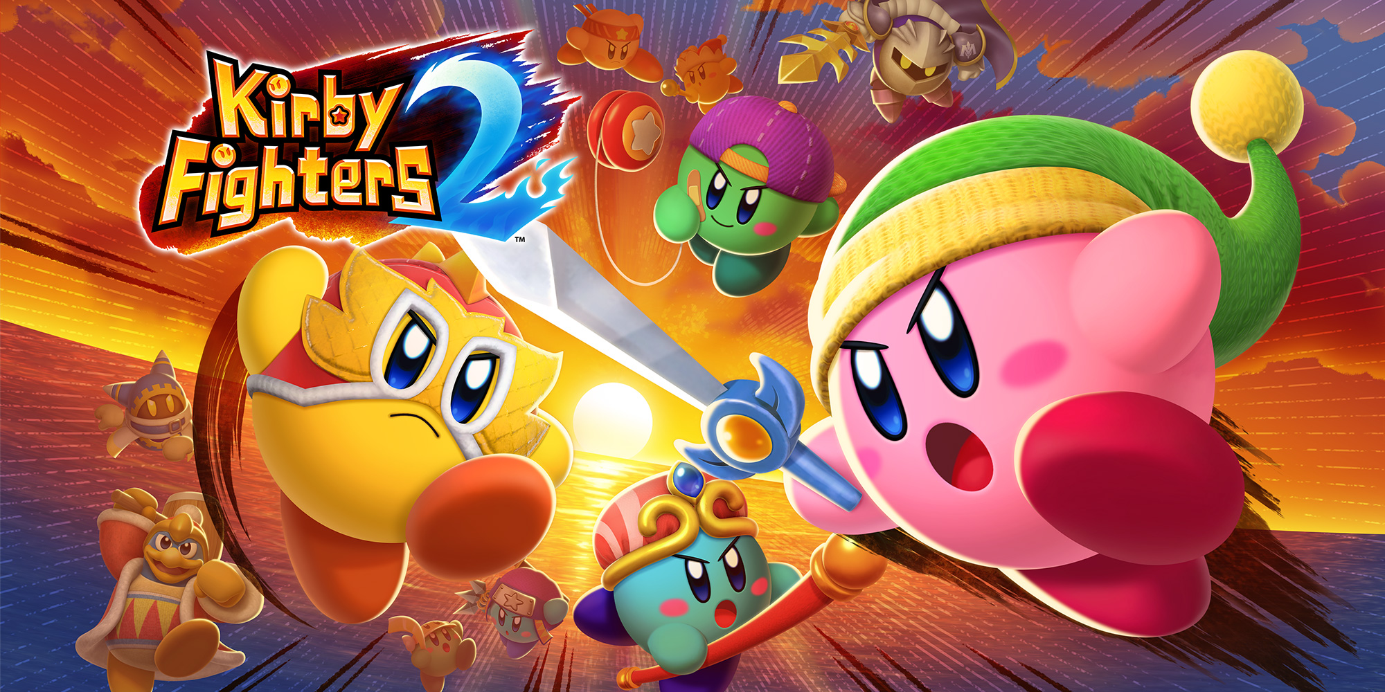 Постер Kirby Fighters 2