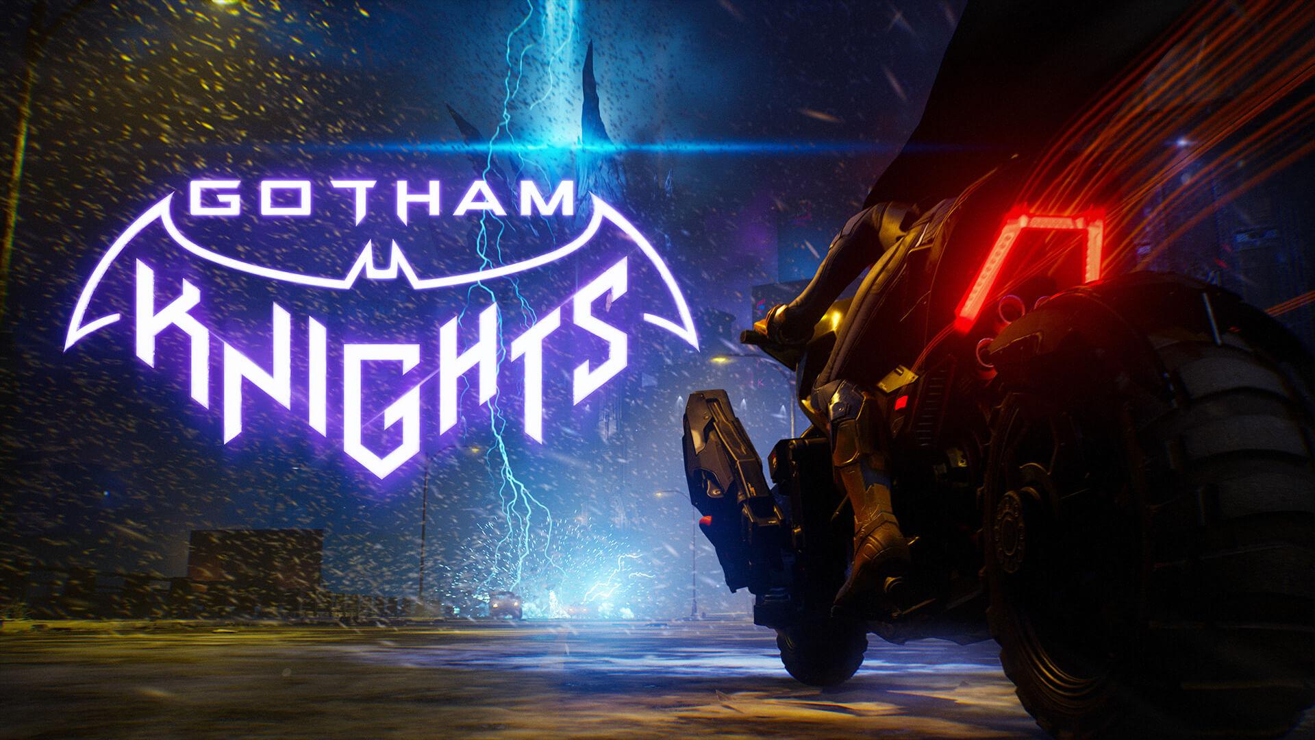 Постер Gotham Knights