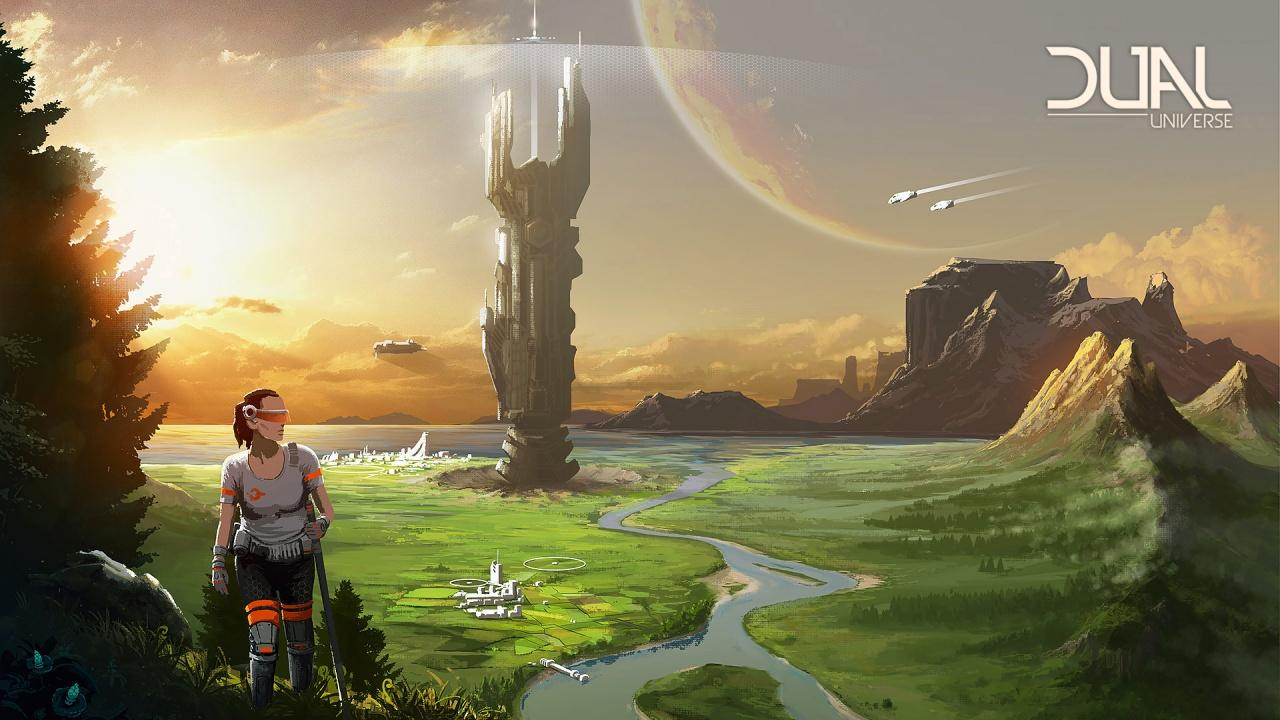 Постер Dual Universe