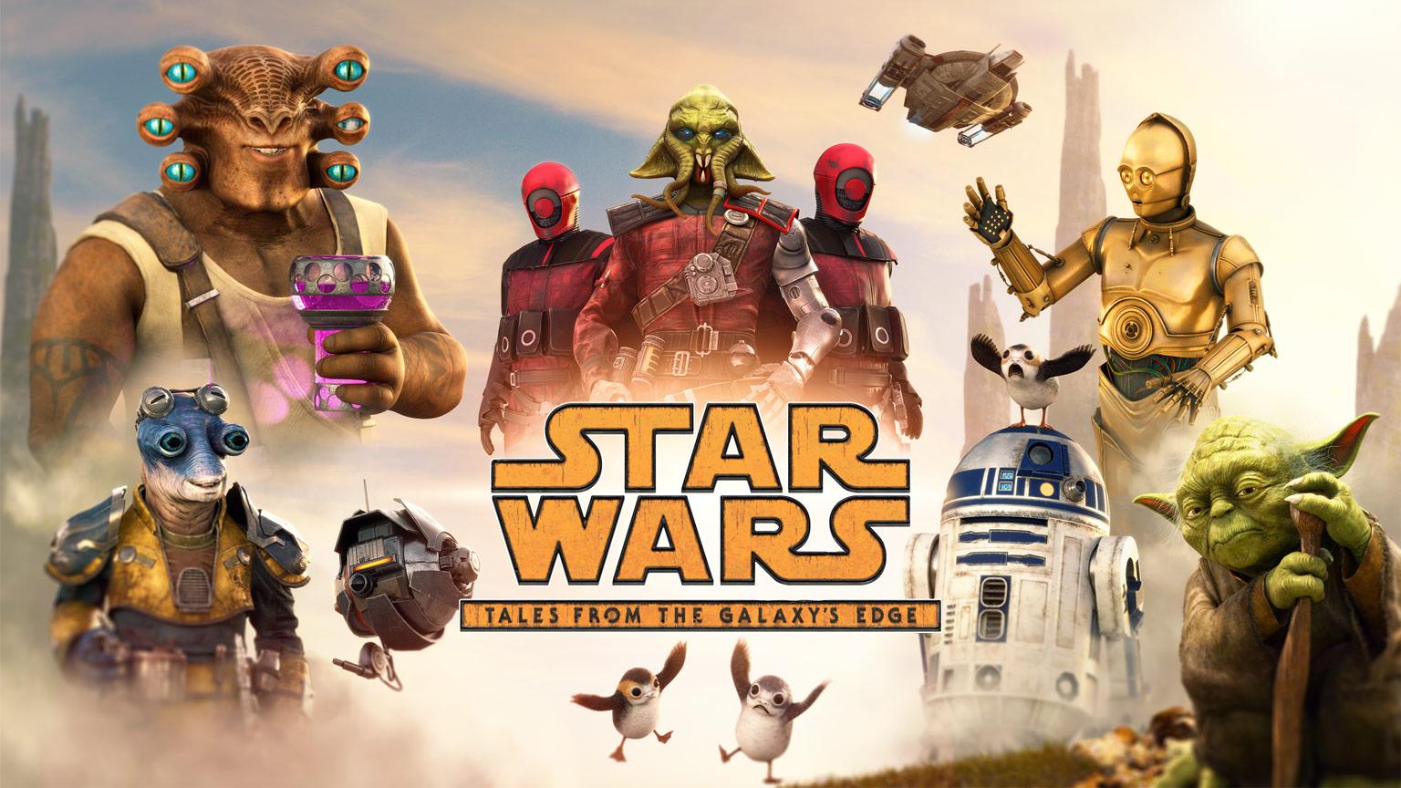 Постер Star Wars: Tales from the Galaxy's Edge