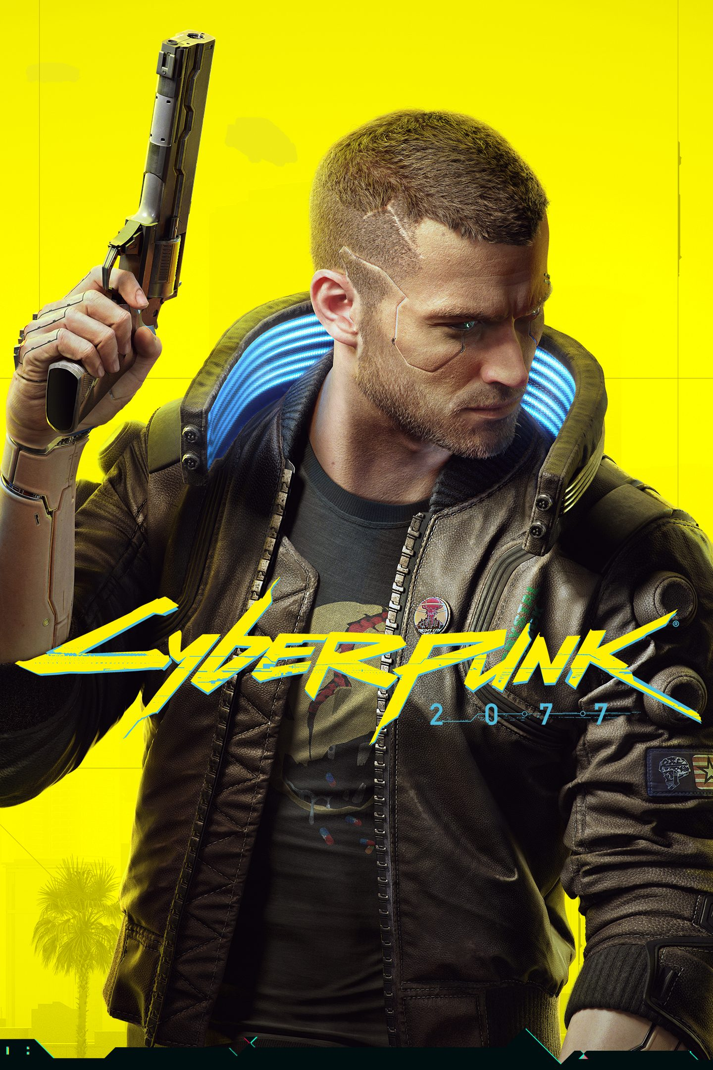 Постер Cyberpunk 2077