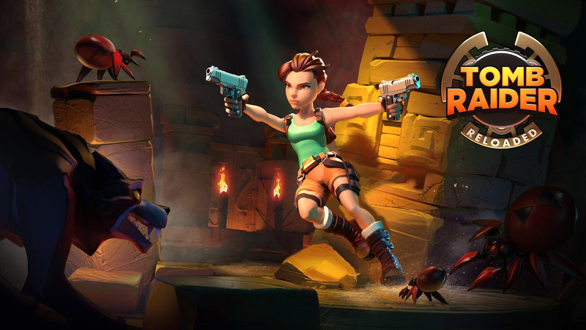 Постер Tomb Raider Reloaded