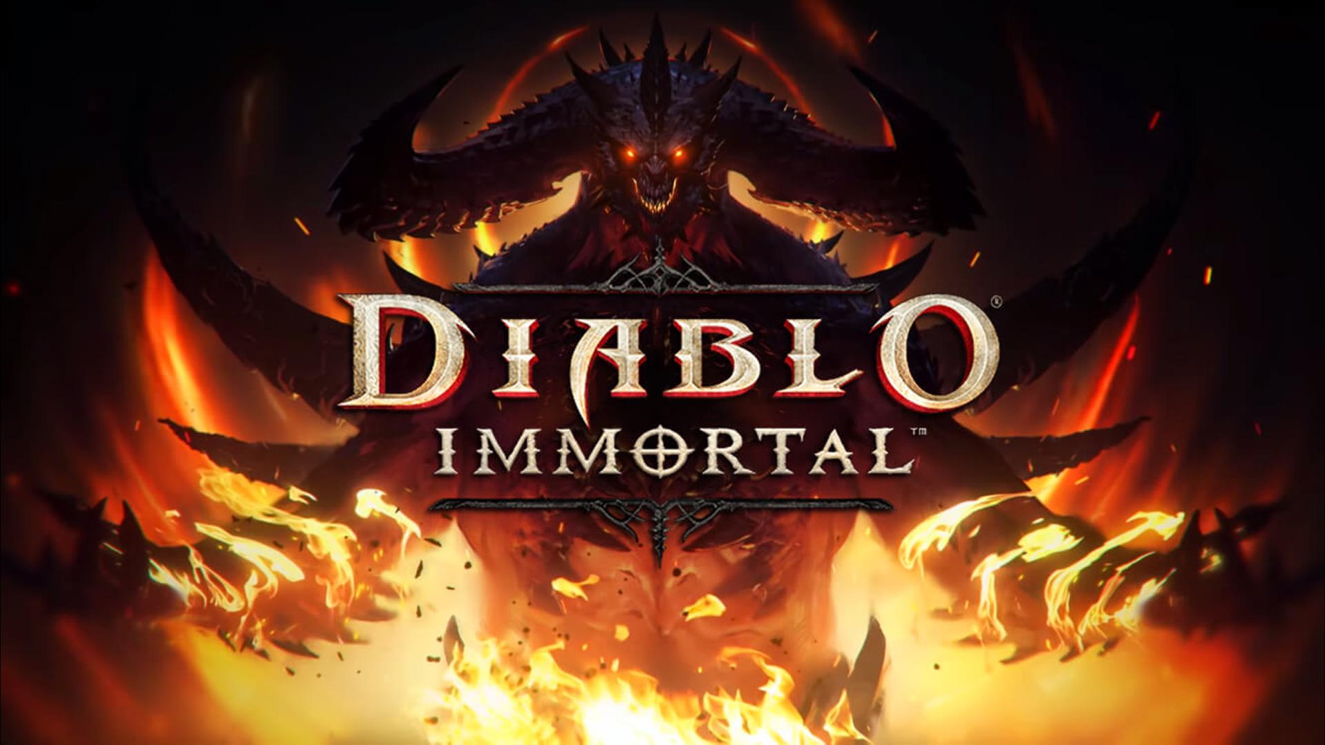 Постер Diablo Immortal