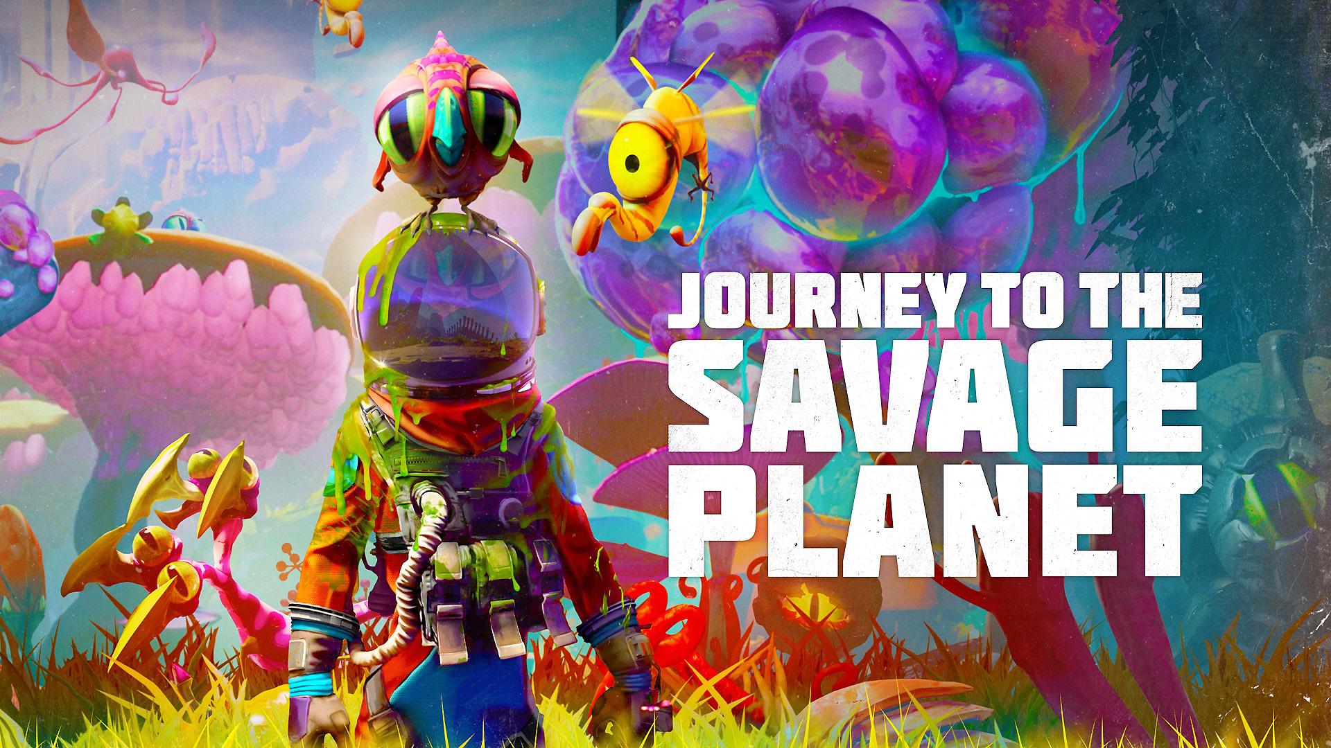 Постер Journey to the Savage Planet