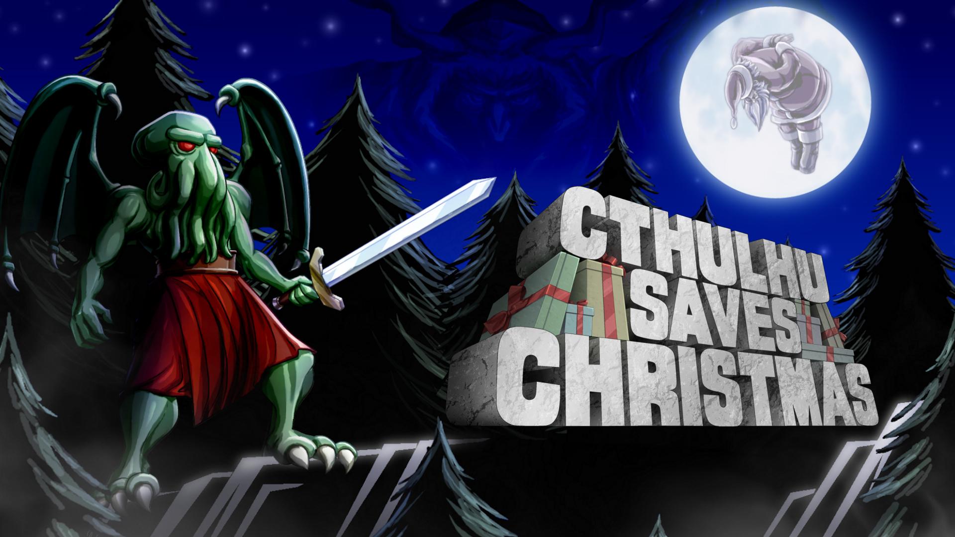 Постер Cthulhu Saves Christmas