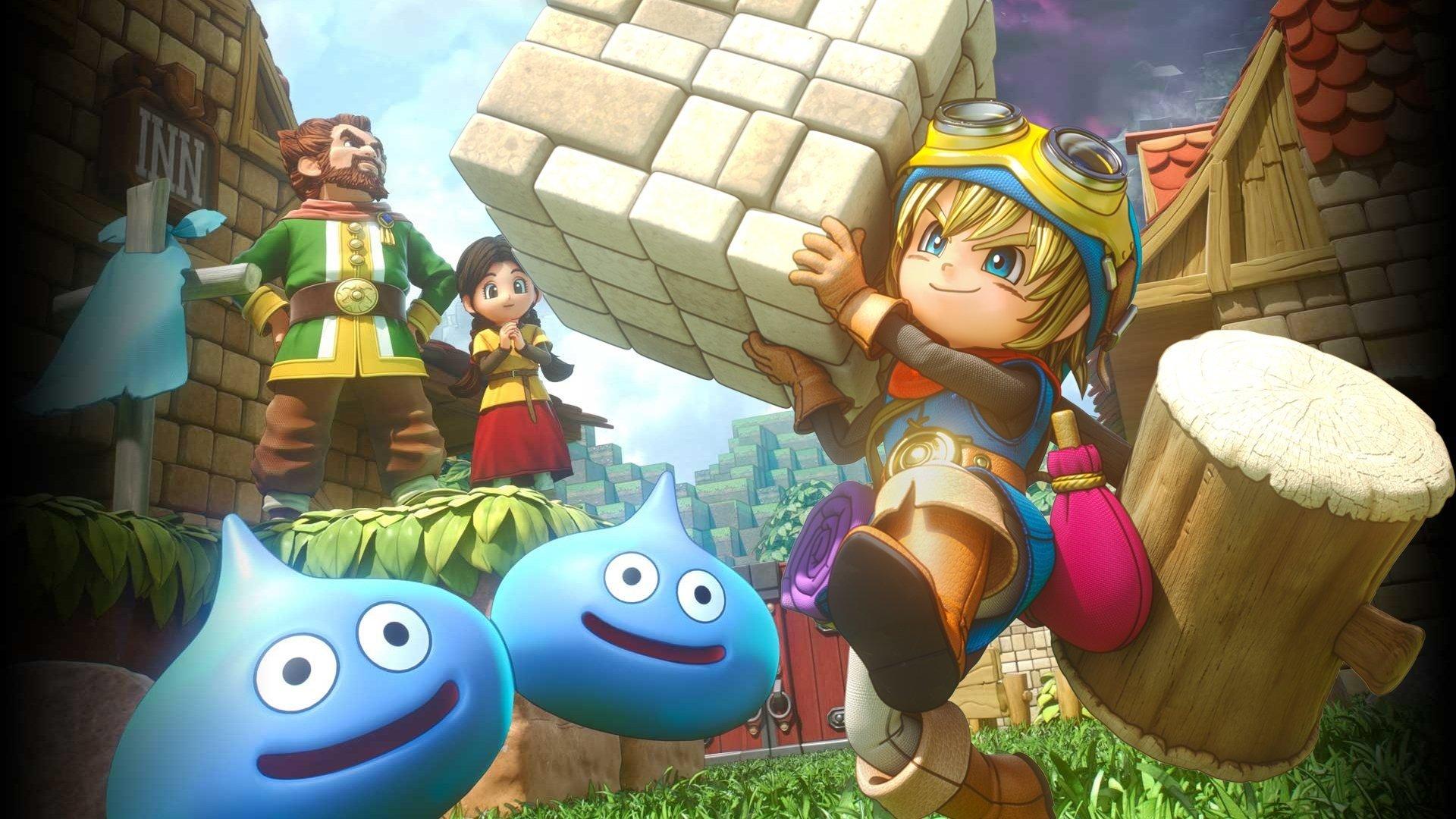 Постер Dragon Quest Builders 2