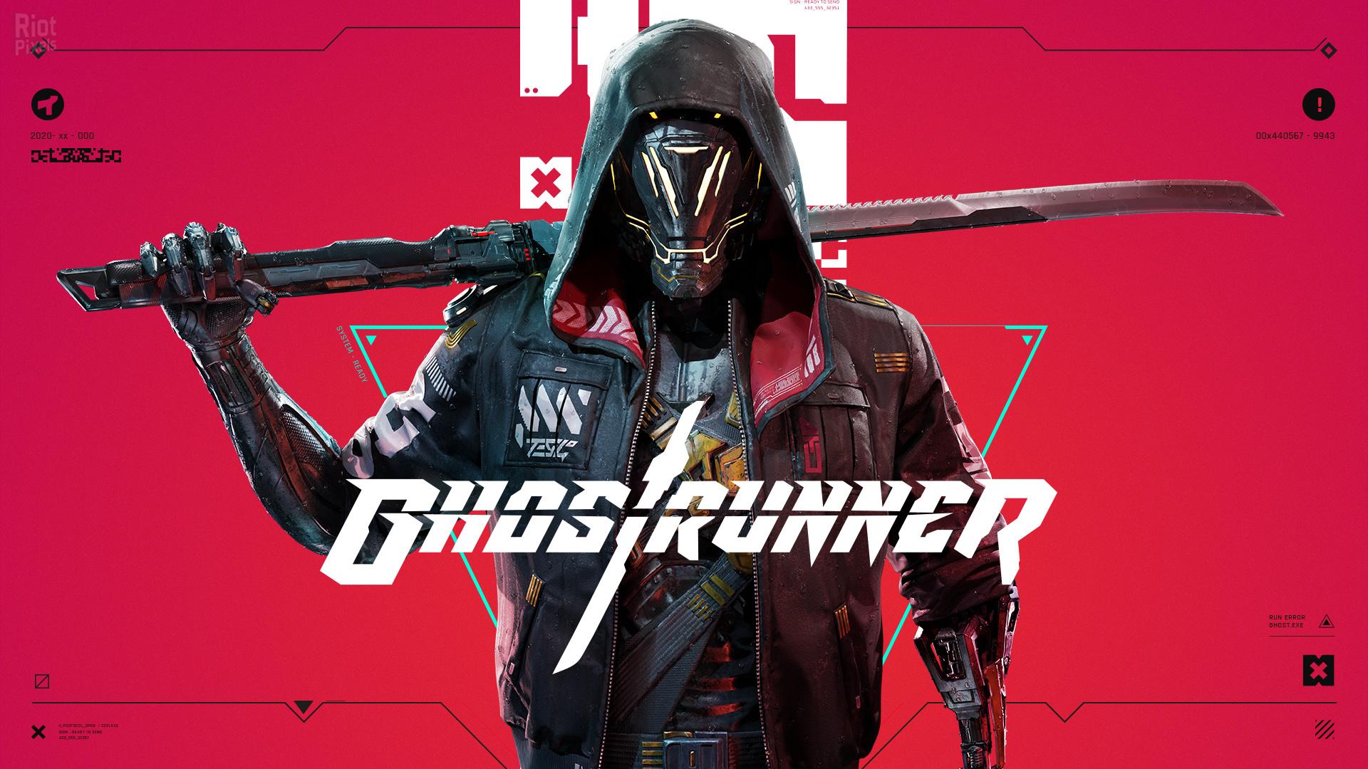 Постер Ghostrunner