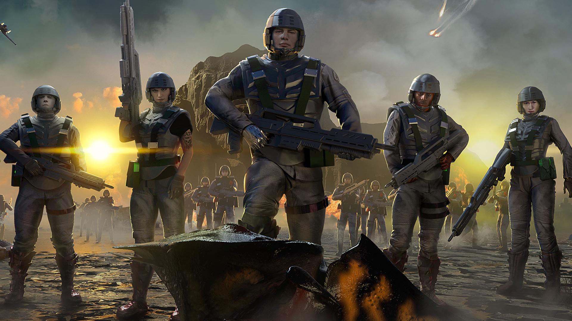 Постер Starship Troopers: Terran Command