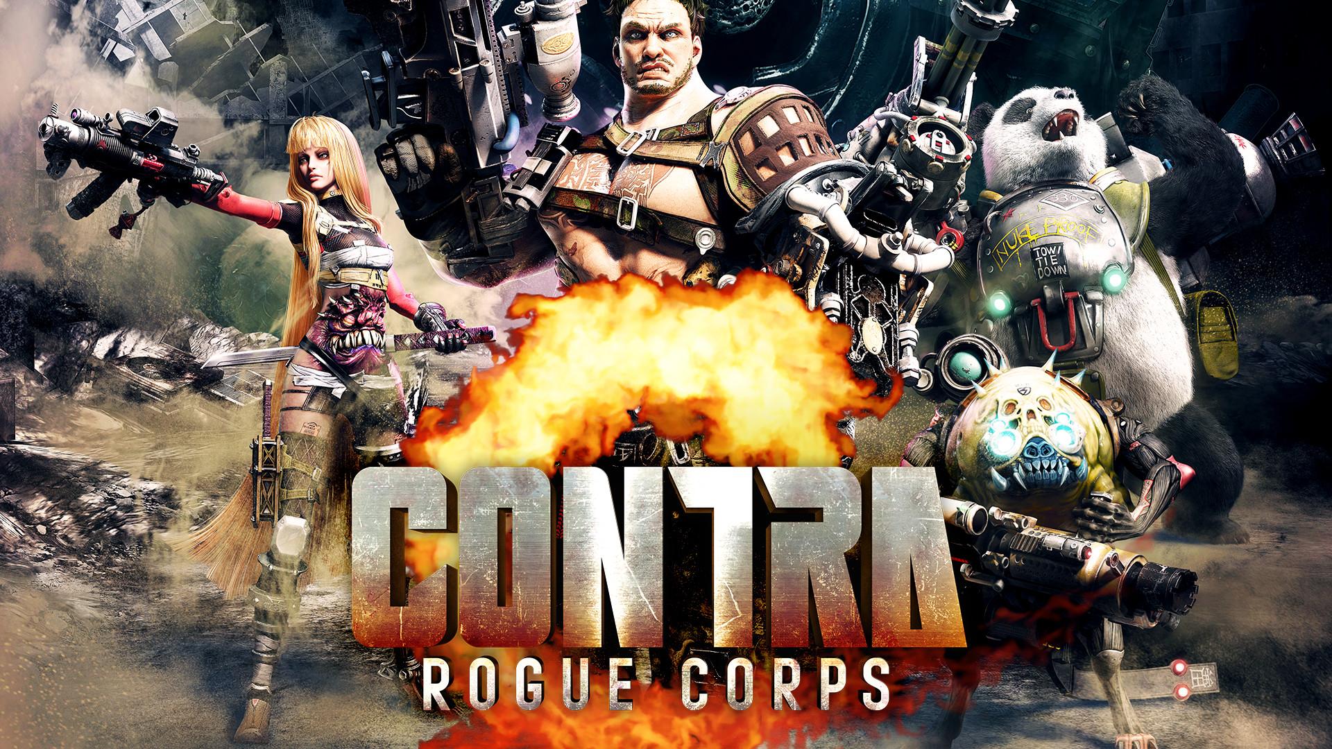 Постер Contra Rogue Corps
