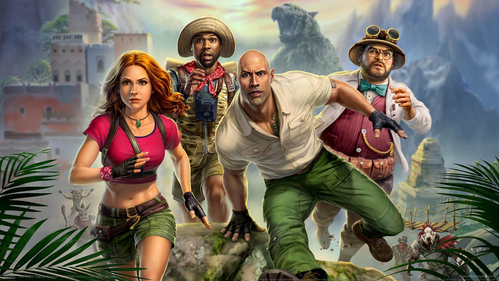 Постер Jumanji: The Video Game