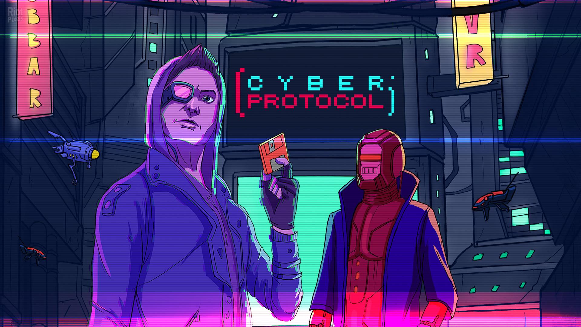 Постер Cyber Protocol