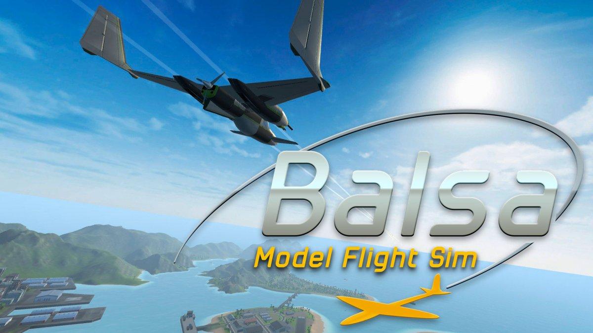 Постер Balsa Model Flight Simulator