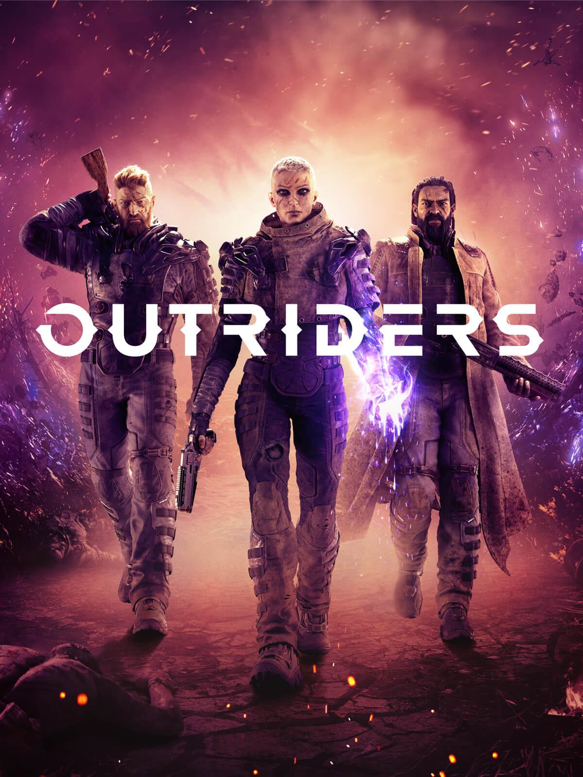 Постер Outriders
