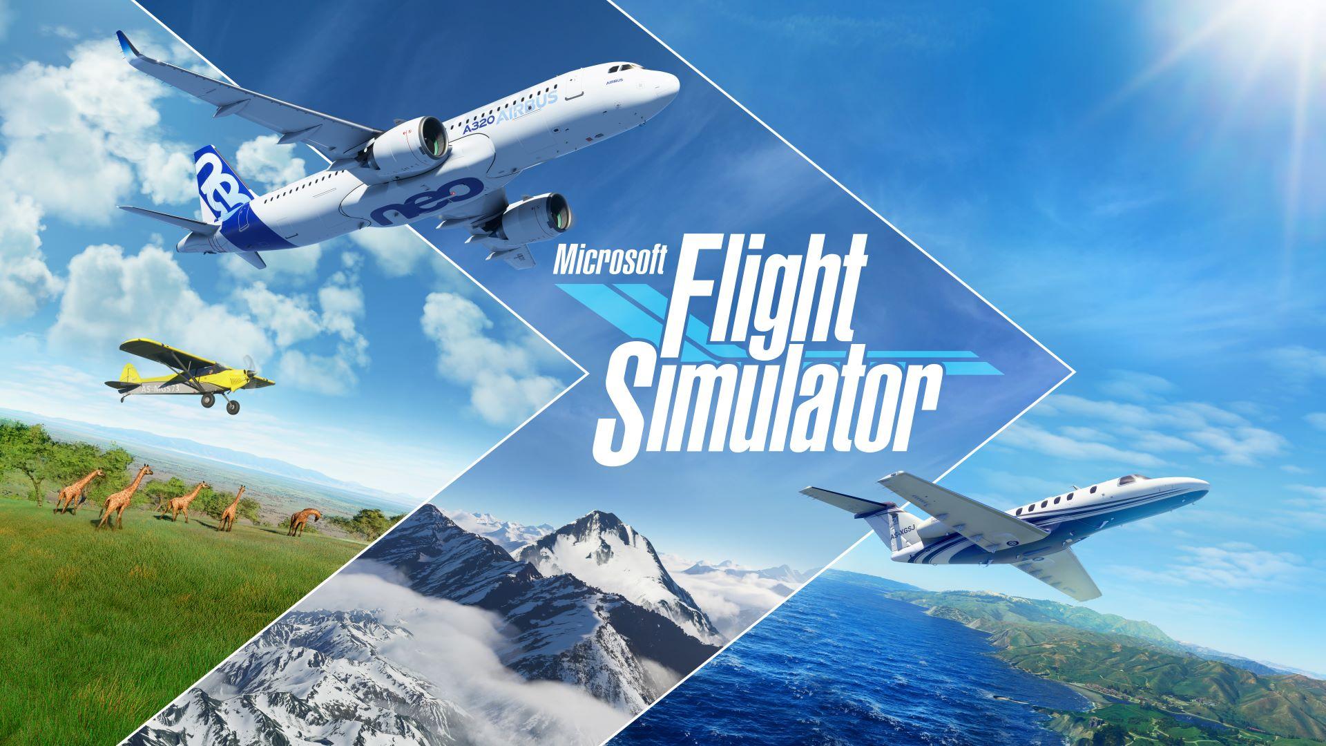 Постер Microsoft Flight Simulator