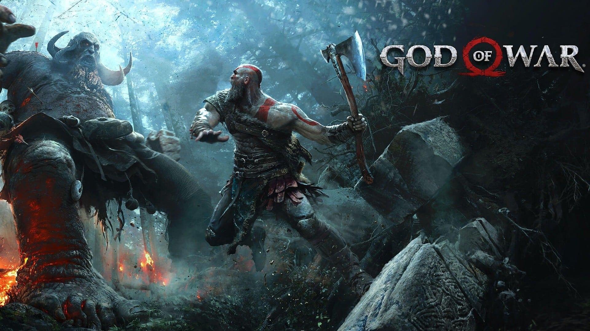 Постер God of War (2018)