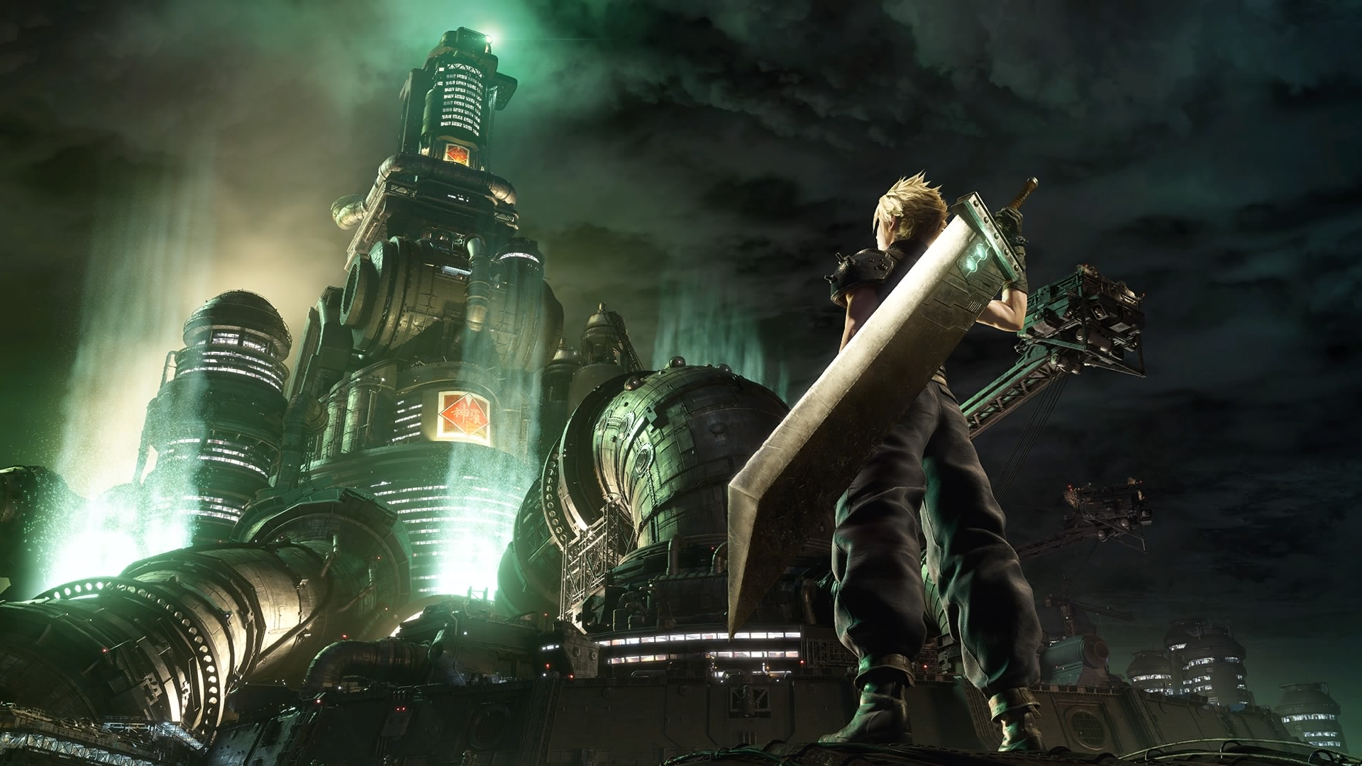 Постер Final Fantasy VII Remake