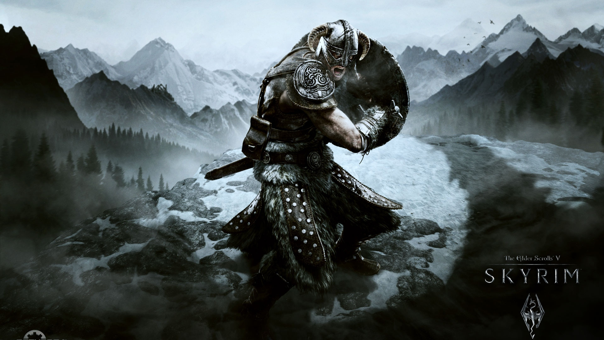 Постер The Elder Scrolls V: Skyrim