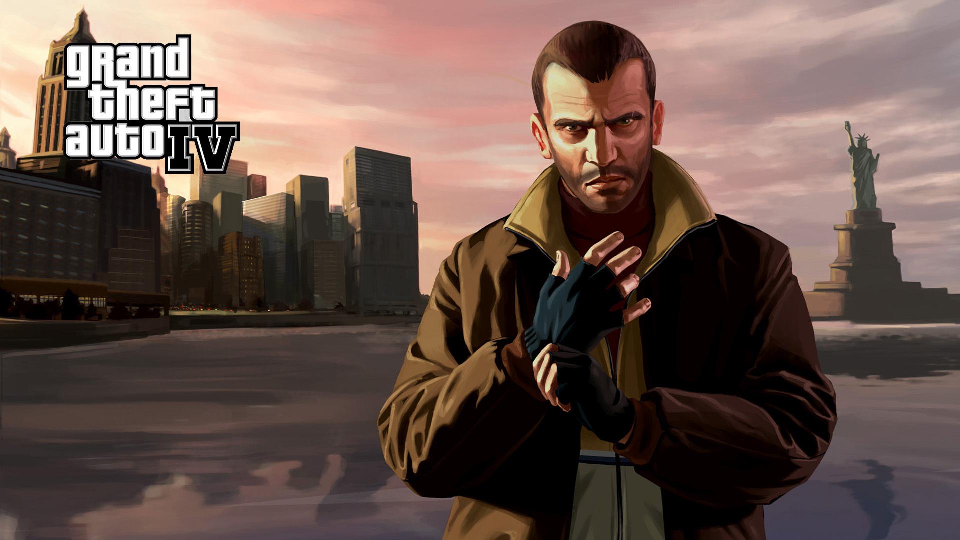 Постер Grand Theft Auto IV