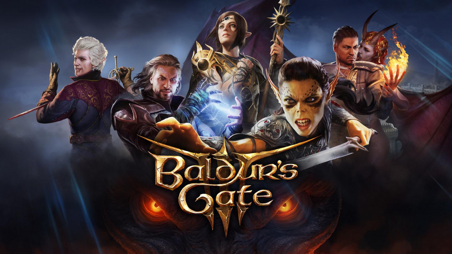 Постер Baldur's Gate III