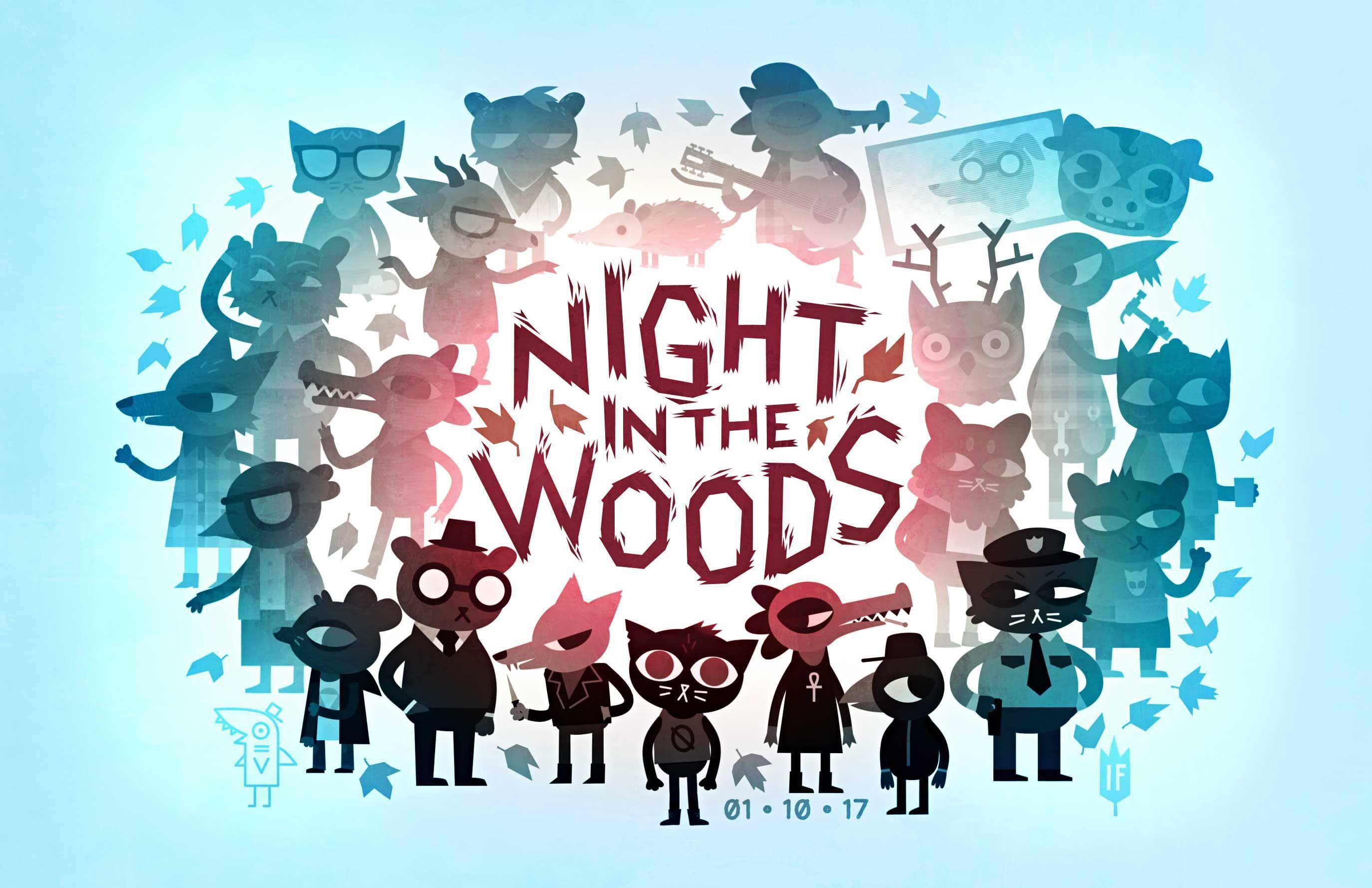 Постер Night In The Woods