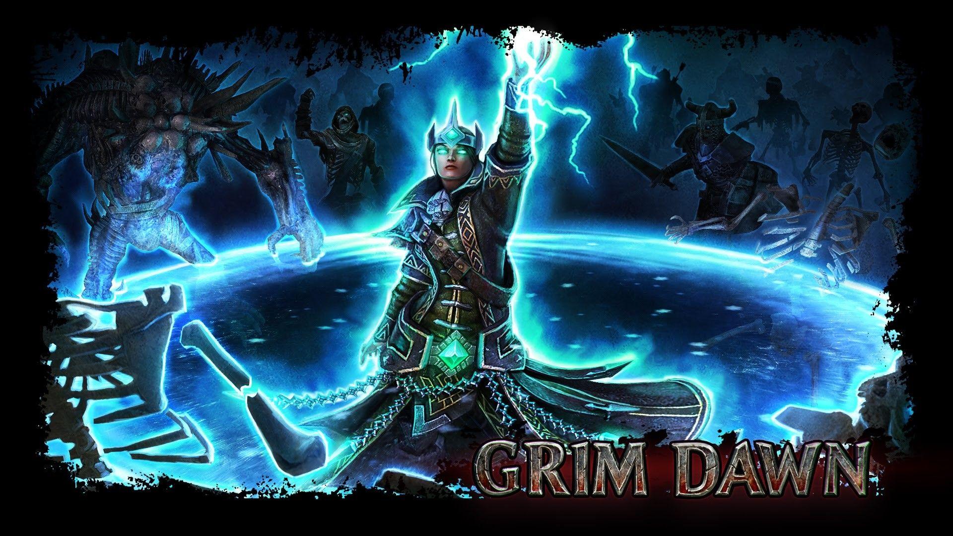 Постер Grim Dawn