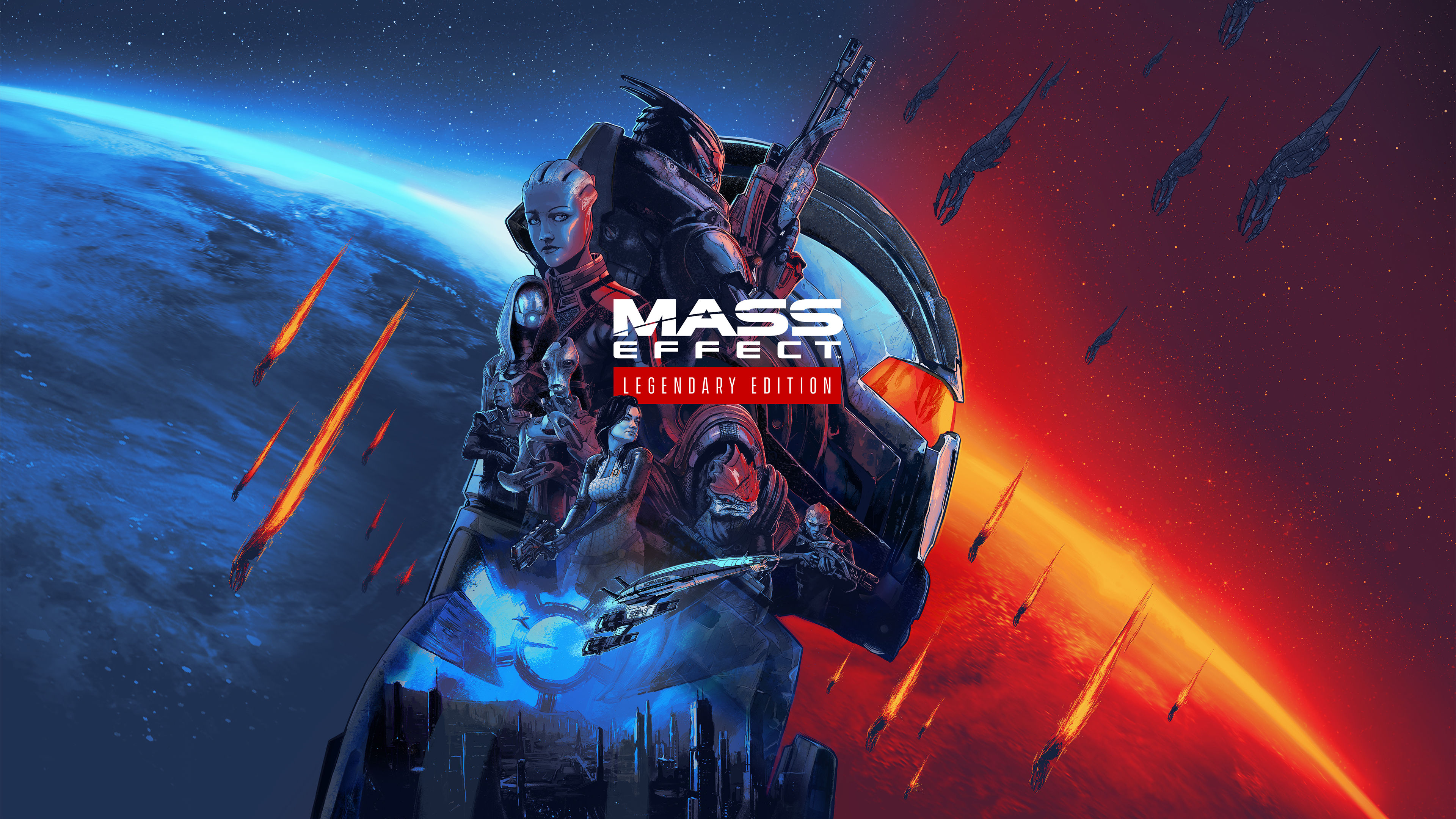 Постер Mass Effect: Legendary Edition