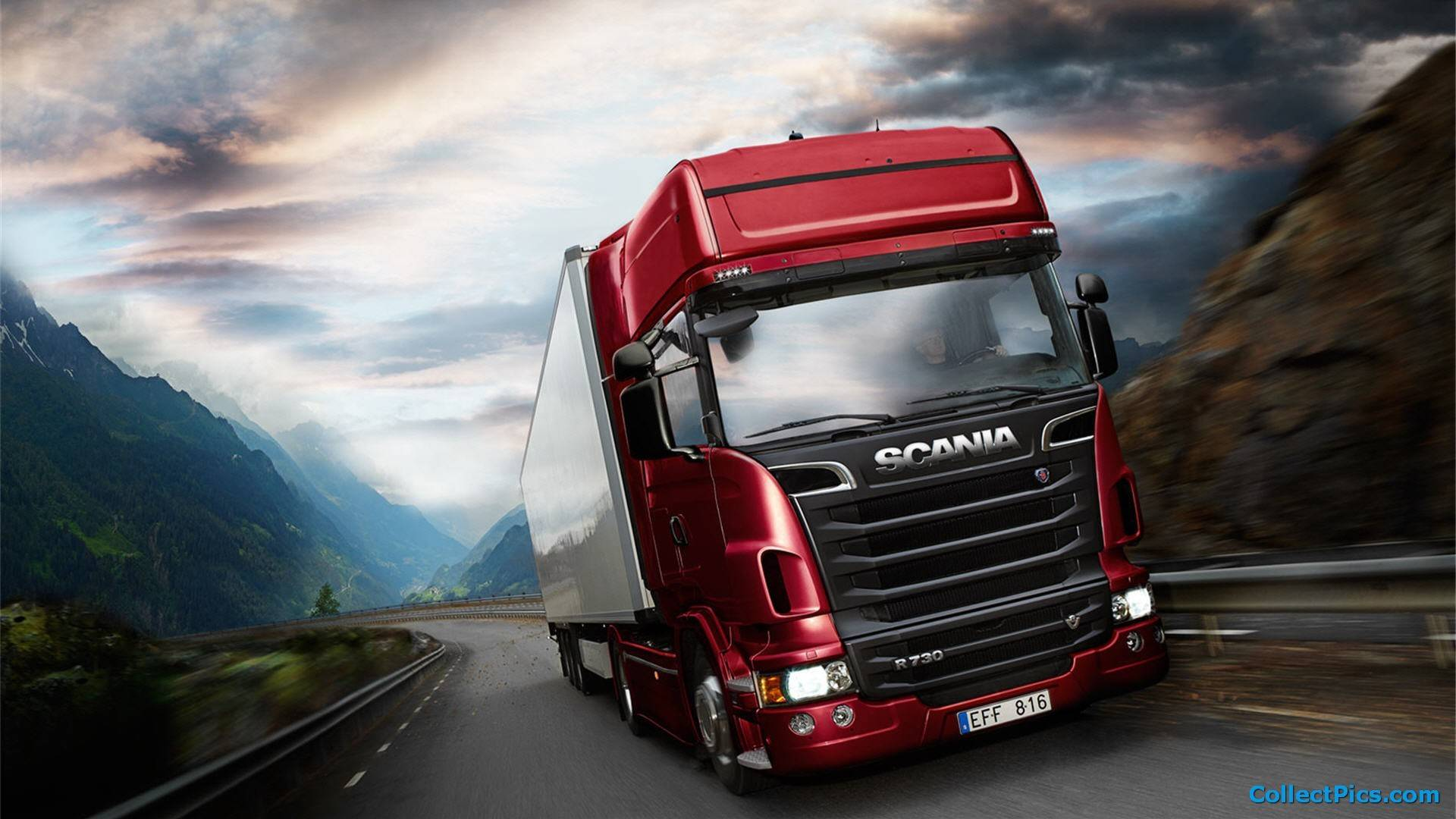 Постер Euro Truck Simulator 2