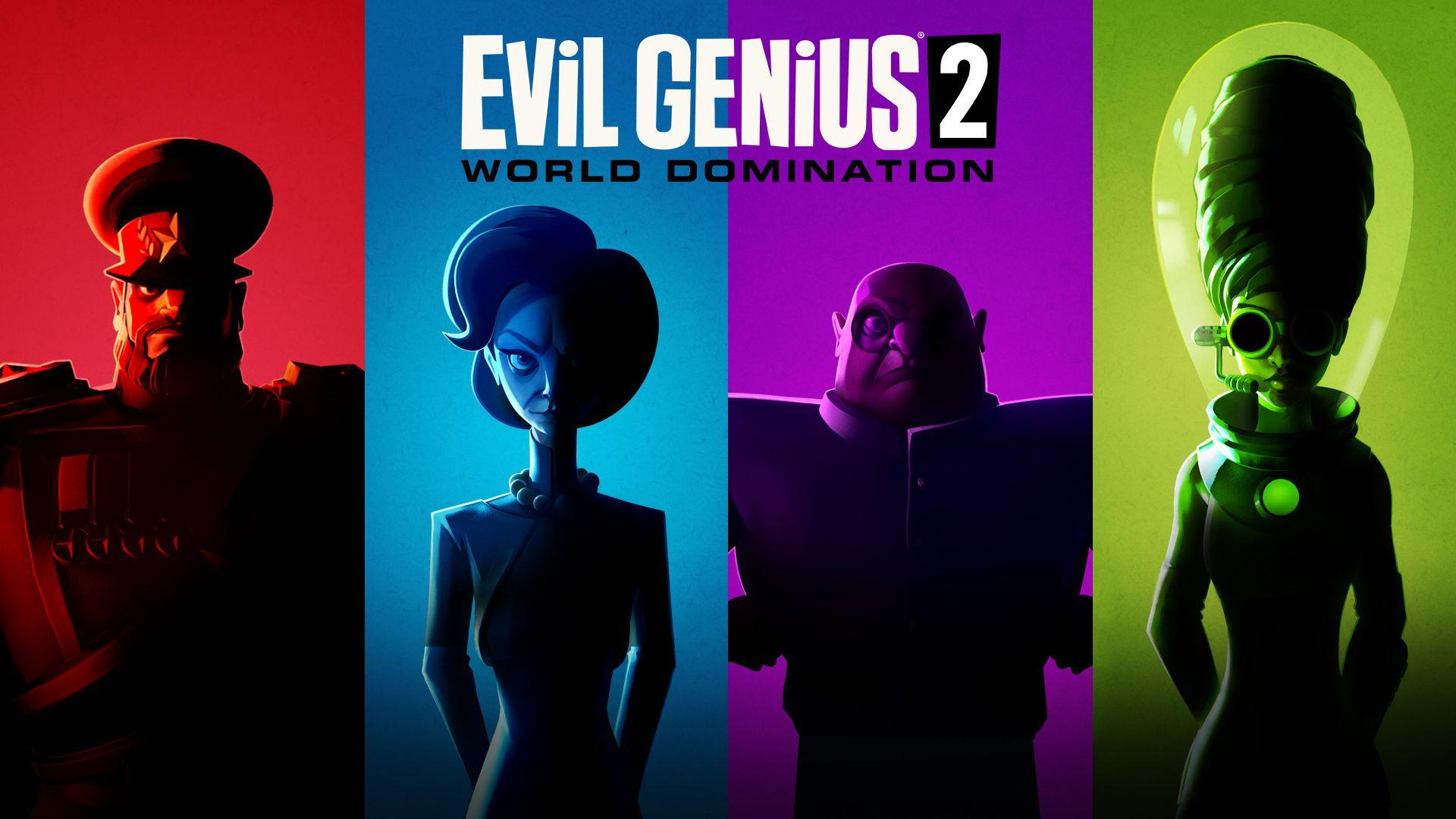 Постер Evil Genius 2