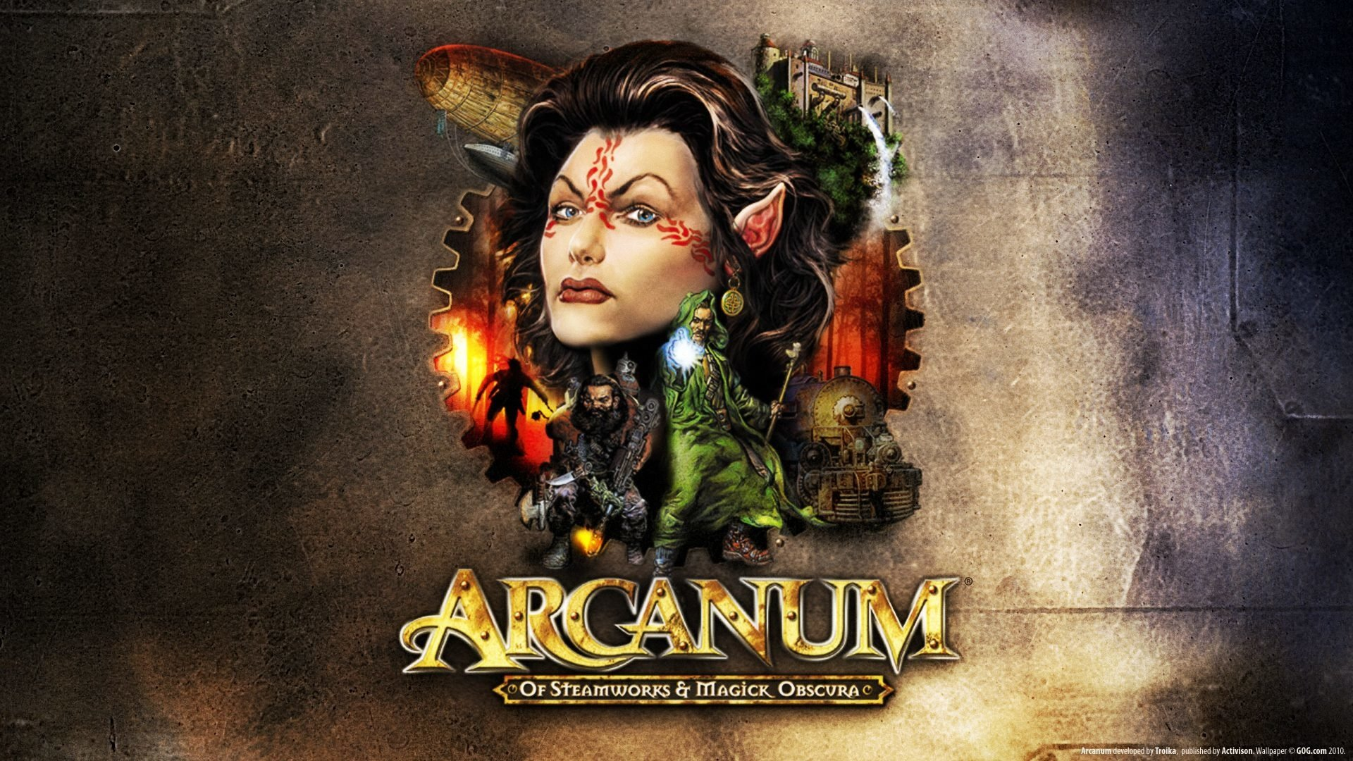Постер Arcanum: Of Steamworks and Magick Obscura