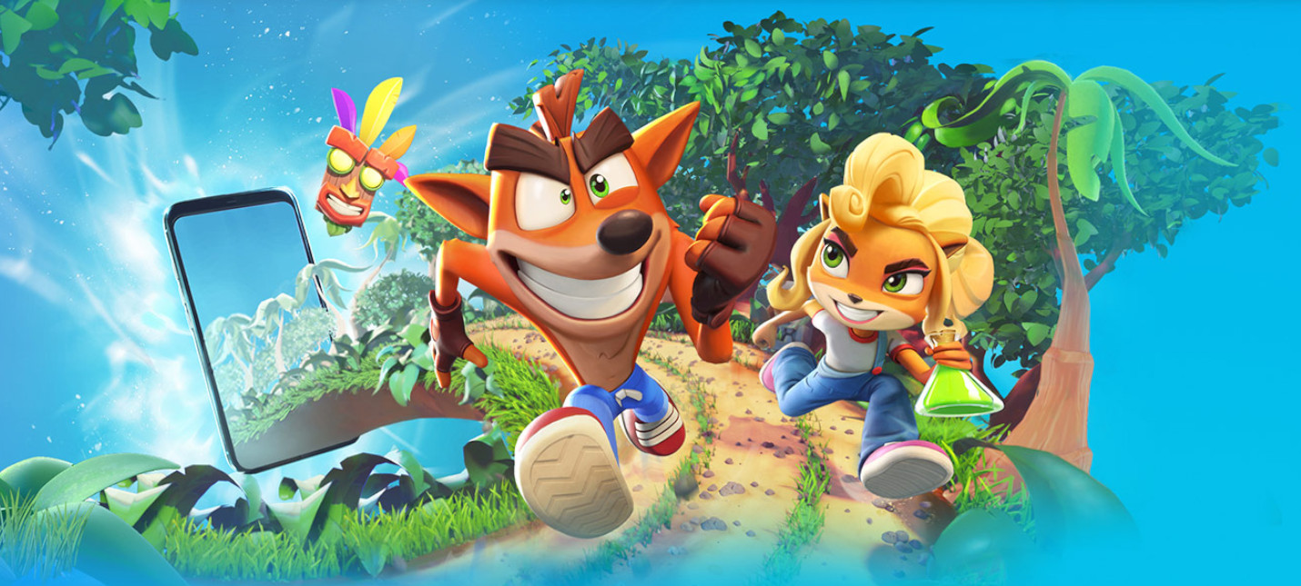 Постер Crash Bandicoot: On the Run!