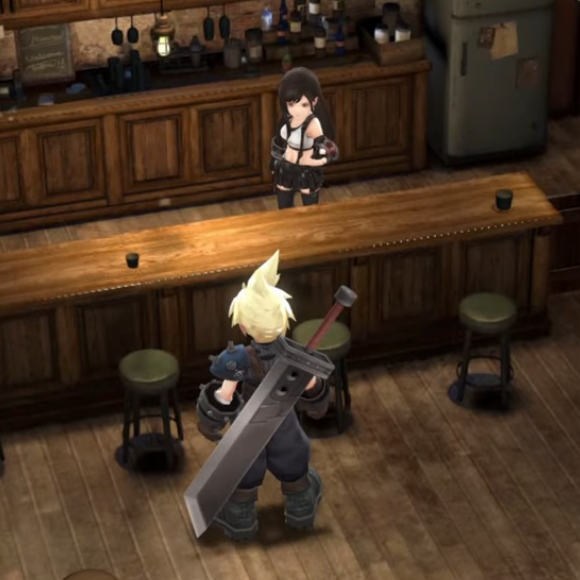 Постер Final Fantasy VII: Ever Crisis