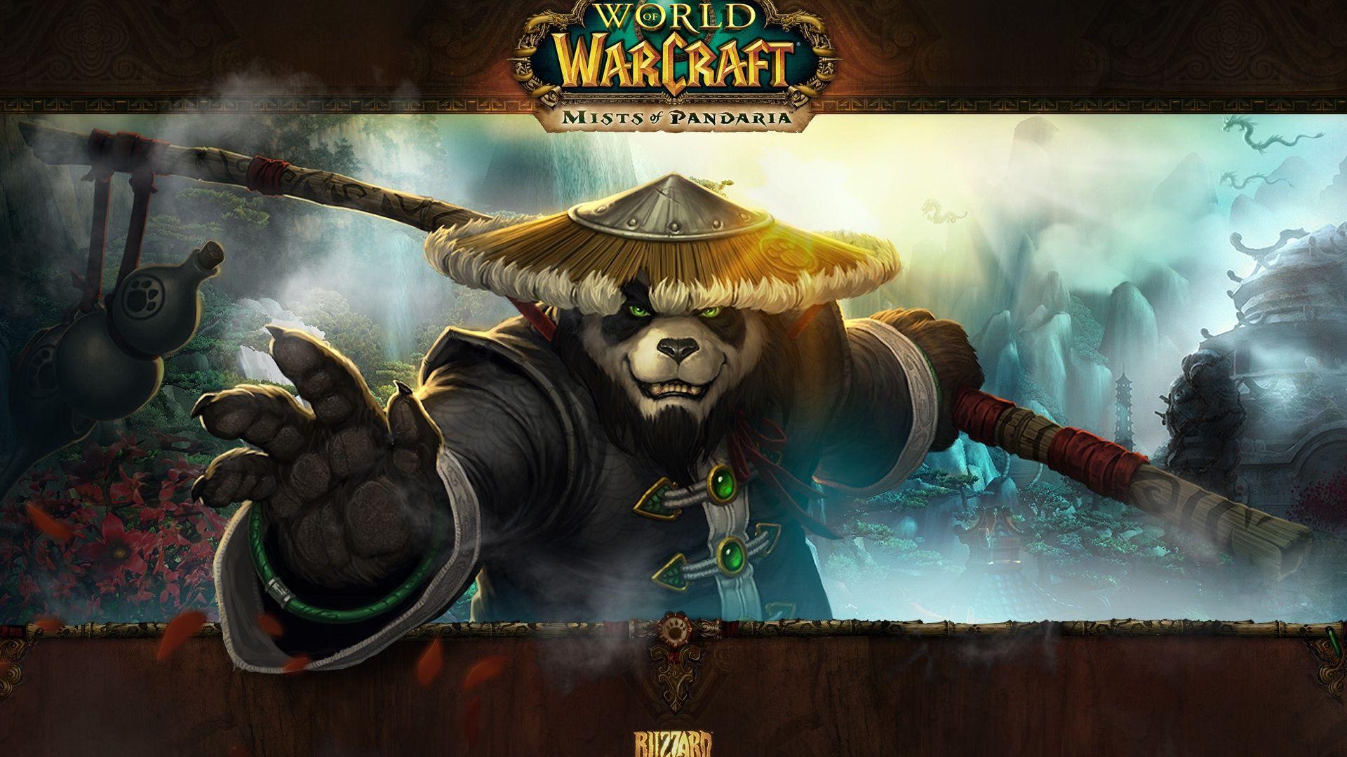 Постер World of Warcraft: Mists of Pandaria