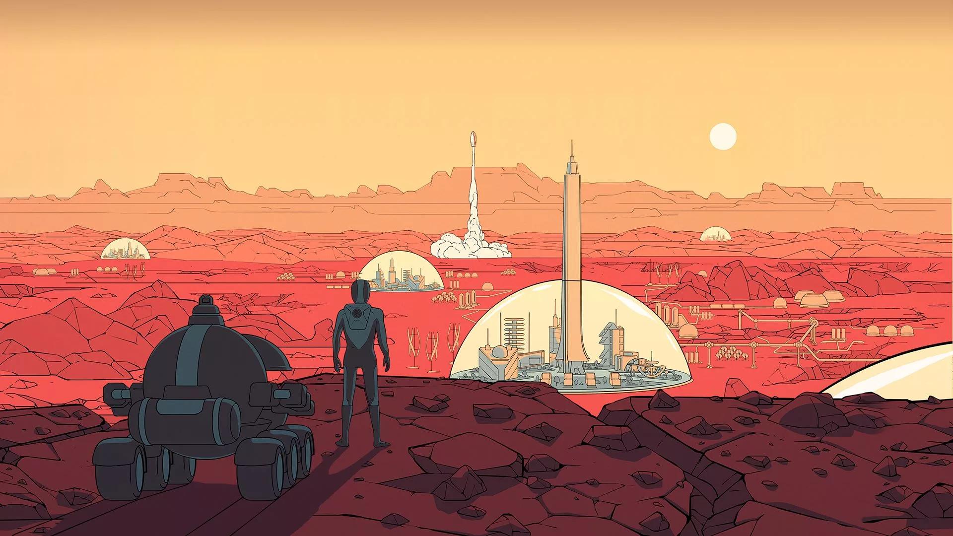 Постер Surviving Mars