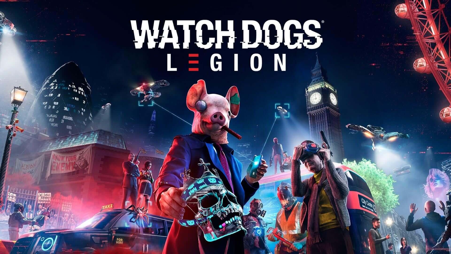Постер Watch Dogs: Legion
