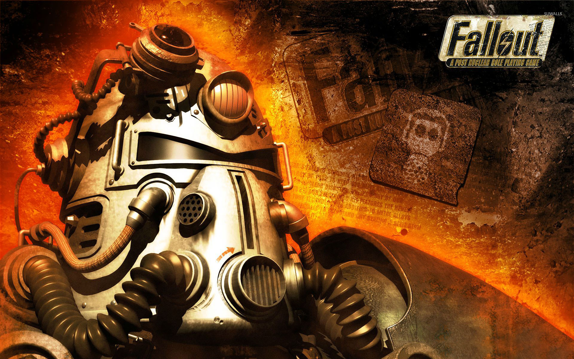 Постер Fallout: A Post Nuclear Role Playing Game