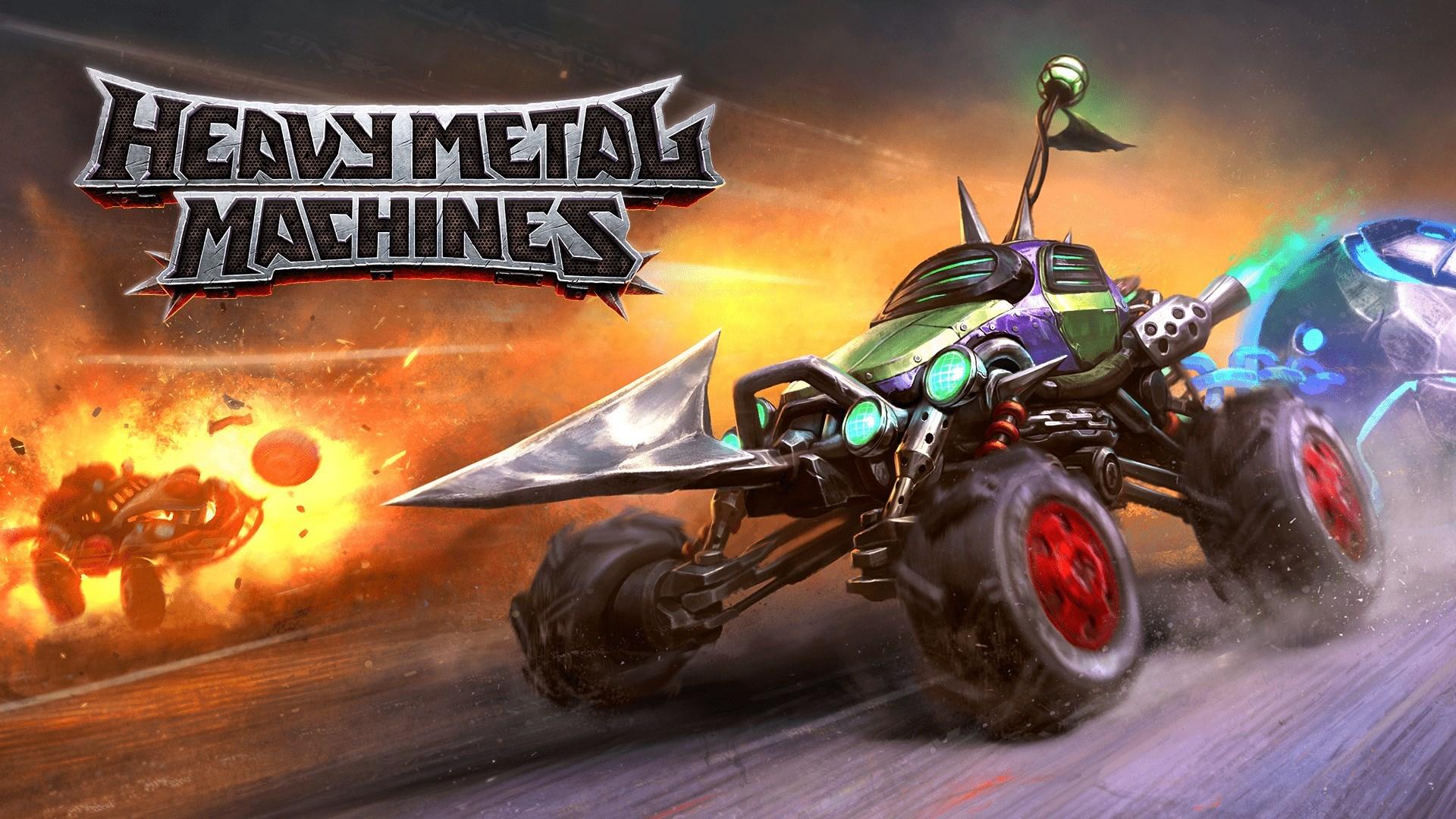 Постер Heavy Metal Machines