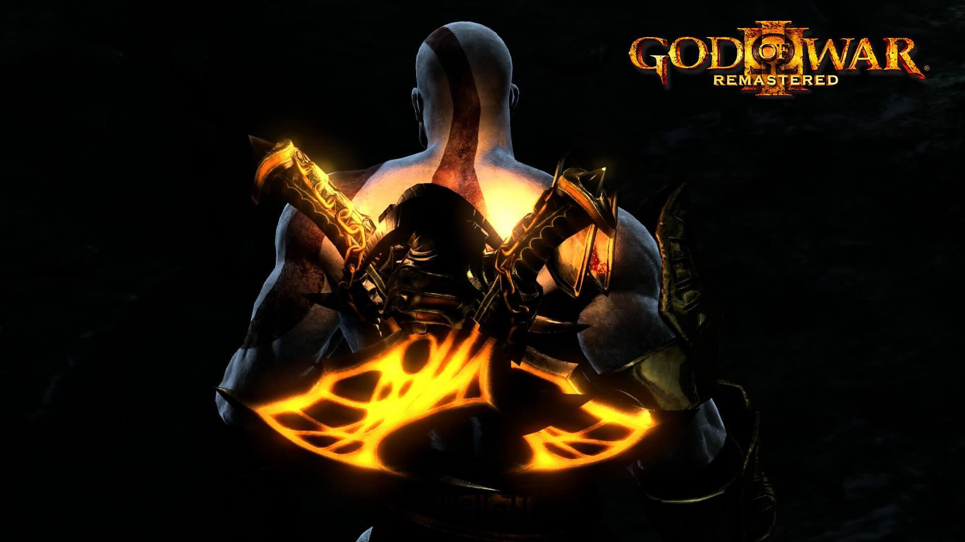 Постер God of War III Remastered