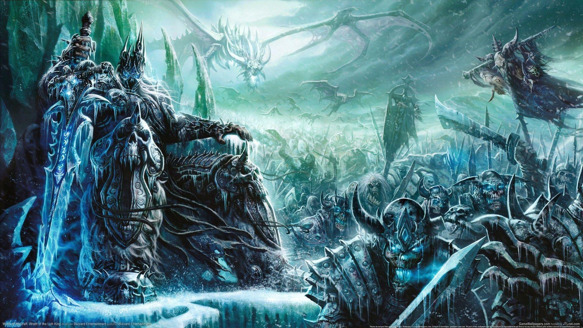Постер World of Warcraft: Wrath of the Lich King