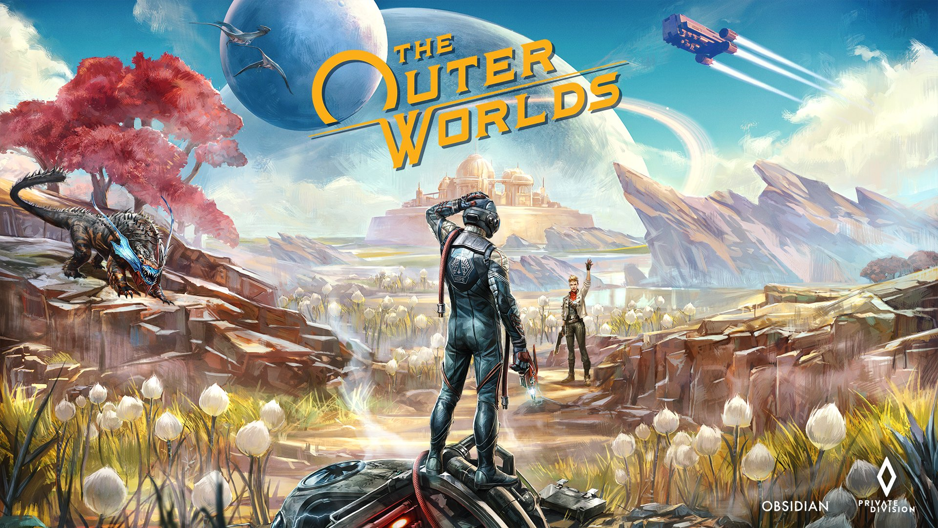 Постер The Outer Worlds