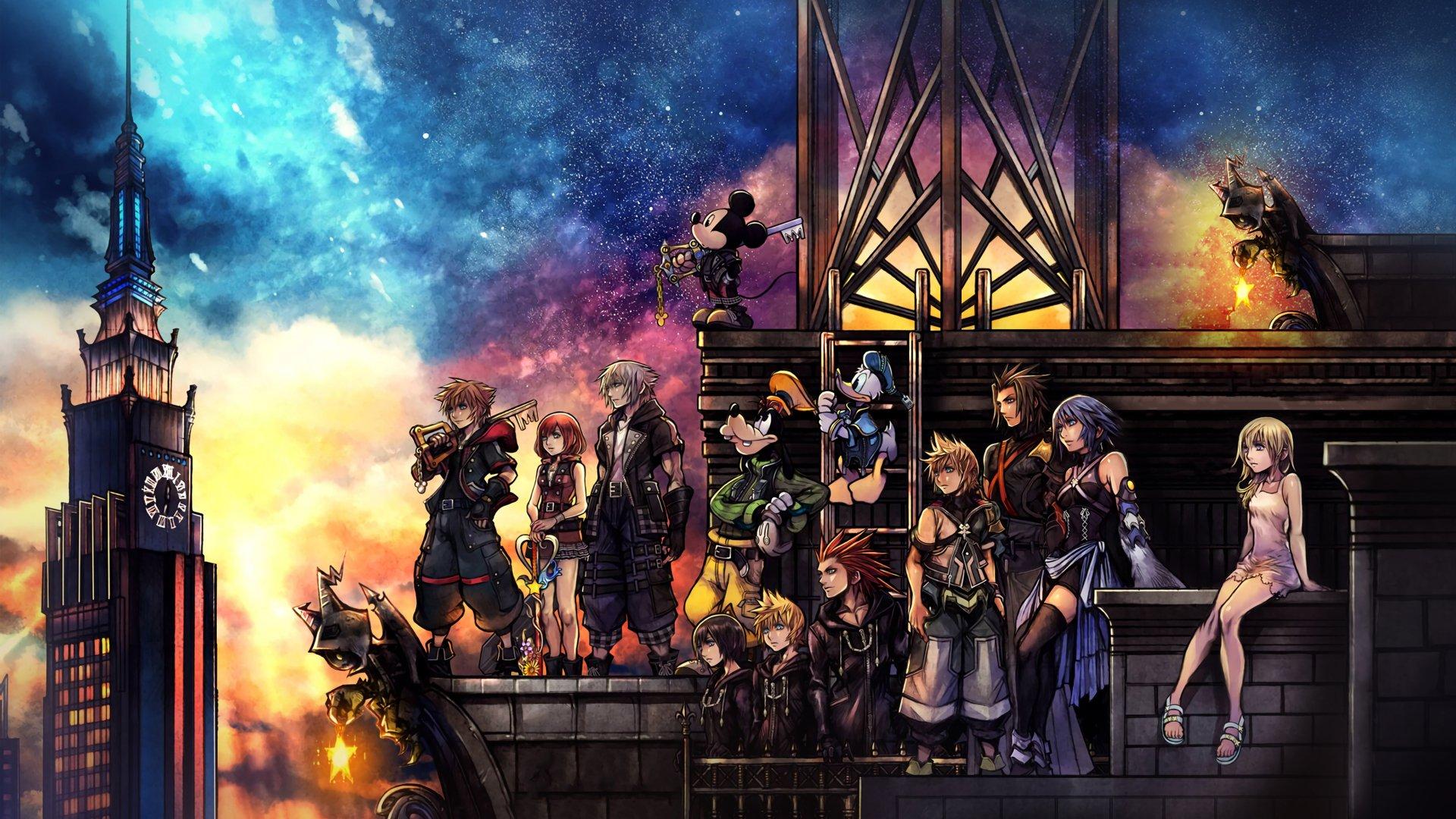 Постер Kingdom Hearts III