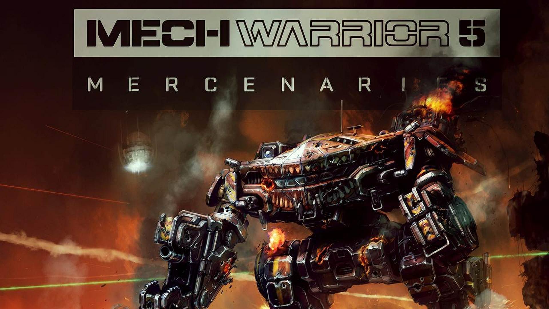 Постер Mechwarrior 5: Mercenaries