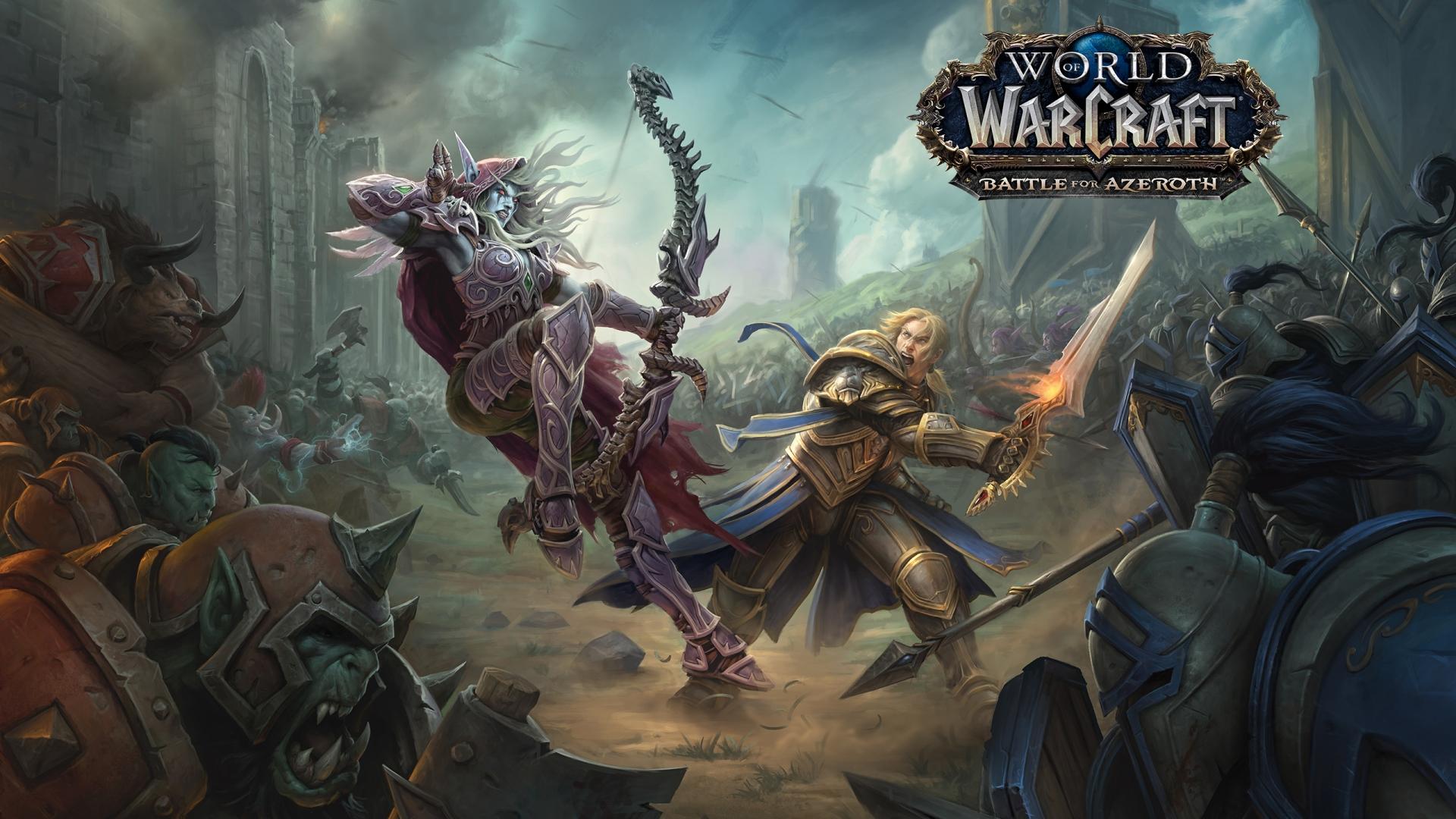 Постер World of Warcraft: Battle For Azeroth