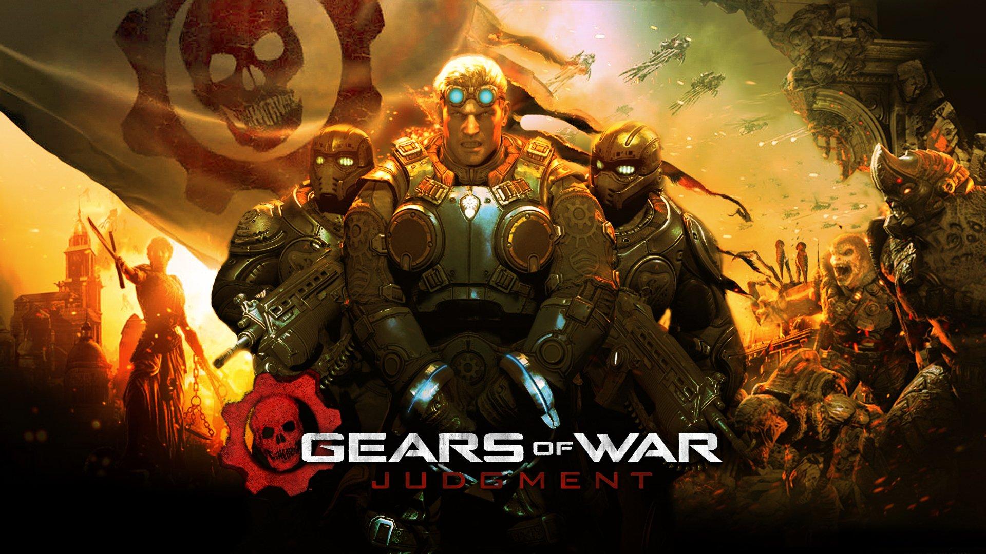 Постер Gears of War: Judgment